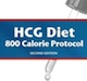 HCG Diet 800 Calorie Protocol  - Second Edition eBook